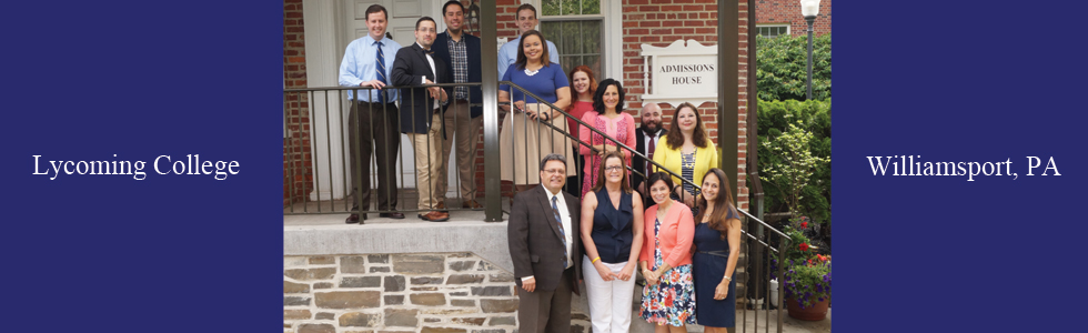 Team Photo of Lycoming College Admission Staff